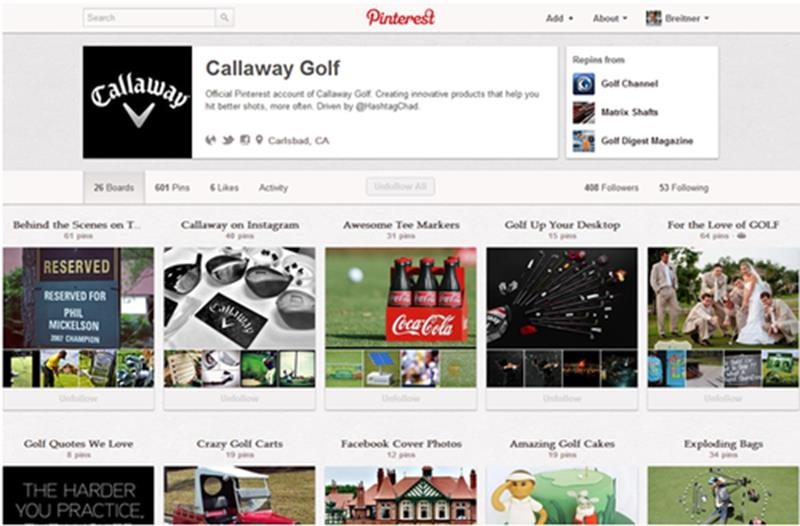 CallawayGolf_Pinterest
