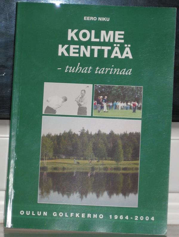 Oulu golf book