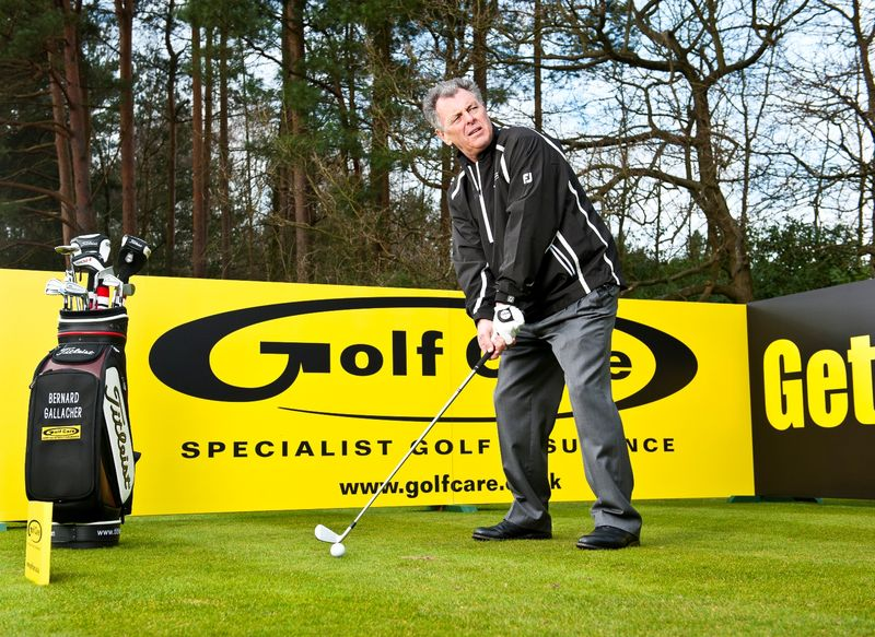 Bernard Gallacher - Ryder Cup legend and Golf Care Ambassador