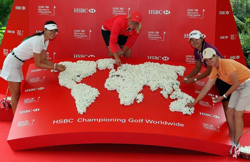 HSBC golf worldwide