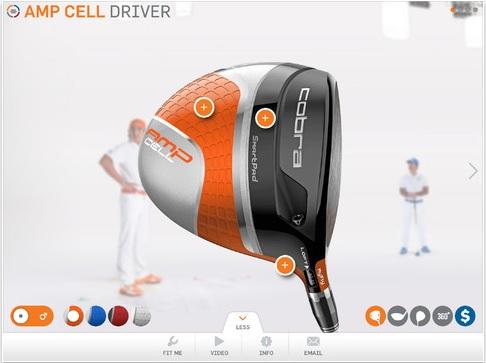 Cobra Golf FitNFly mobile application 2