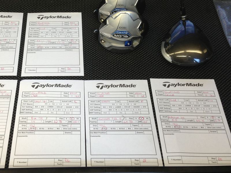 TaylorMade SLDR prototype K