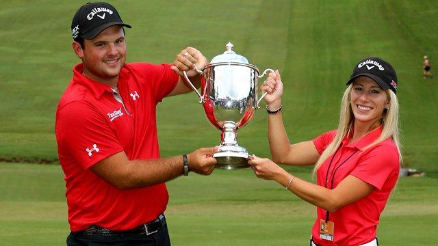 Reed-patrick-justine-trophy-Callaway Golf