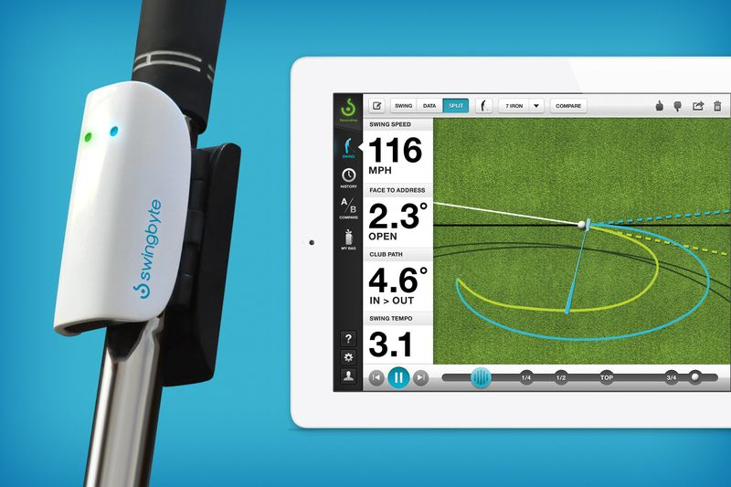 Swingbyte golf educational tool