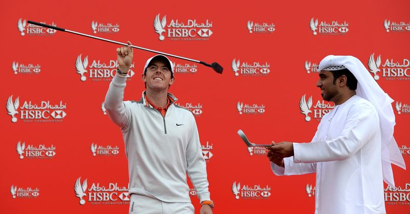 HSBC - McIlroy takes centre stage in Abu Dhabi