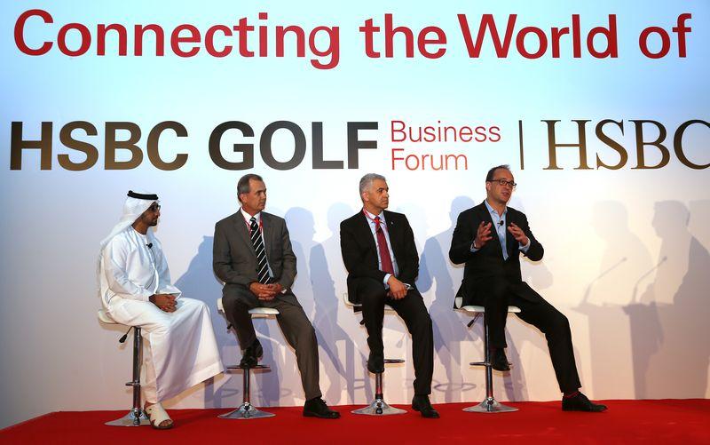 HSBC Golf Business Forum 2014