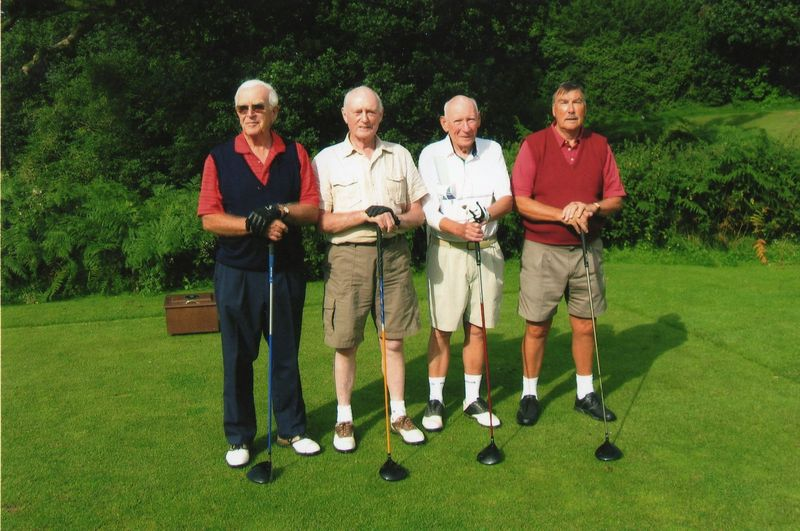 330 years old golfers