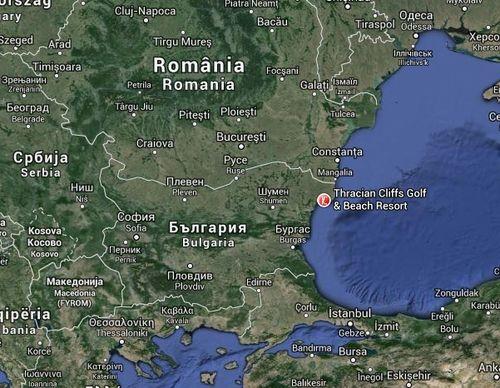Thracian Cliffs Golf_Google_Maps