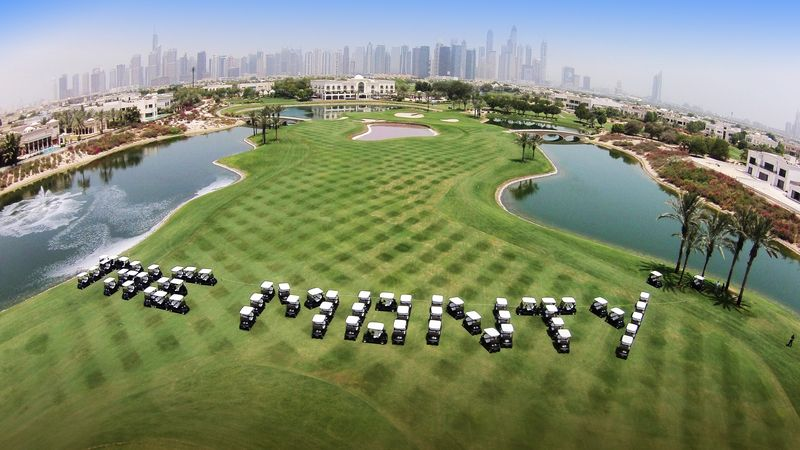 The Address Montgomerie spells 'The Monty' with its new Club Car fleet