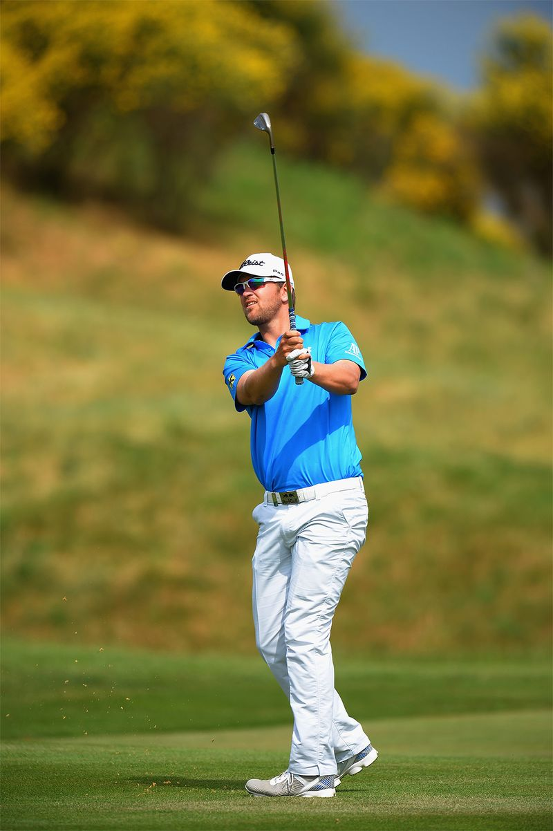 Bernd Wiesberger on his way to victory at Alstom Open de France
