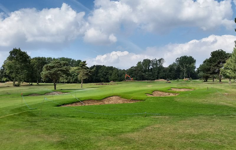 Royal Blackheath Golf Club under construction