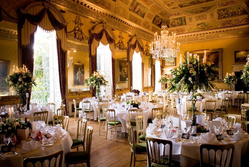 Brocket Hall ball room
