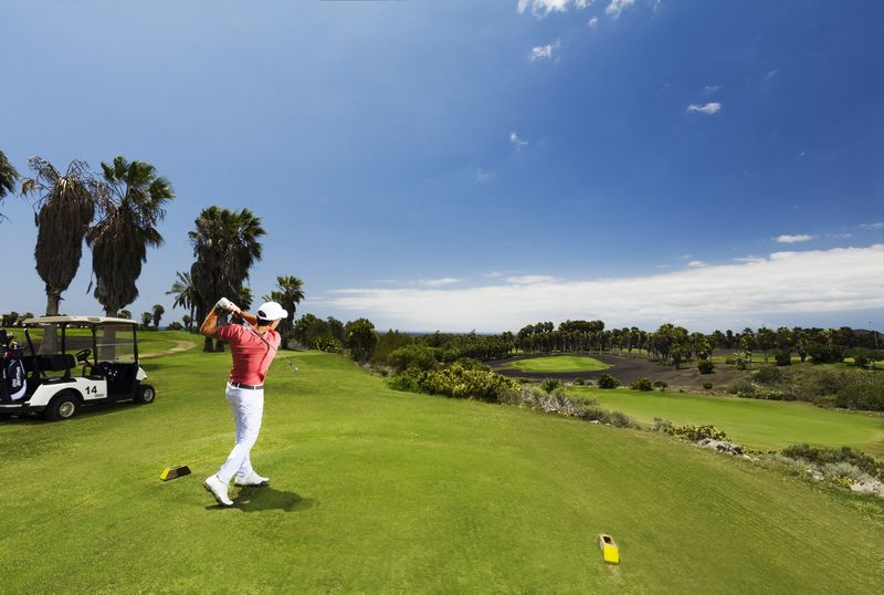 Golf Del Sure 2nd hole
