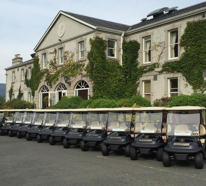 Club Car - Powerscourt Golf Club