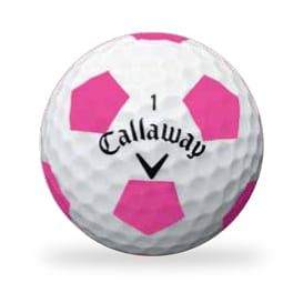 Callaway's Chrome Soft golf ball with Truvis Technology
