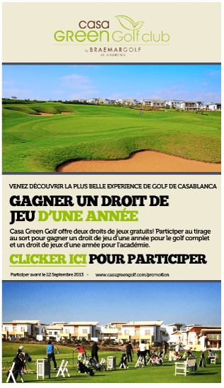 Membership Promo Email French