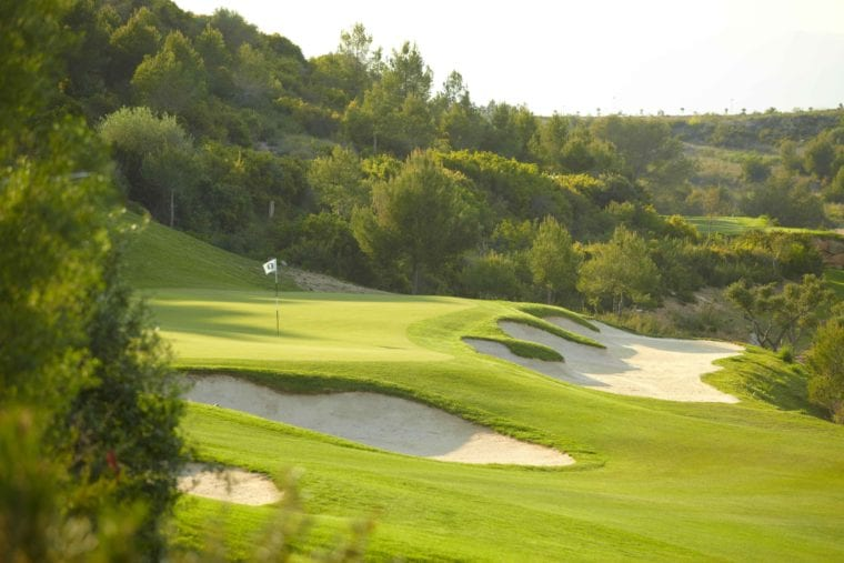 Lumine boasts three courses, two of which were designed by Greg Norman