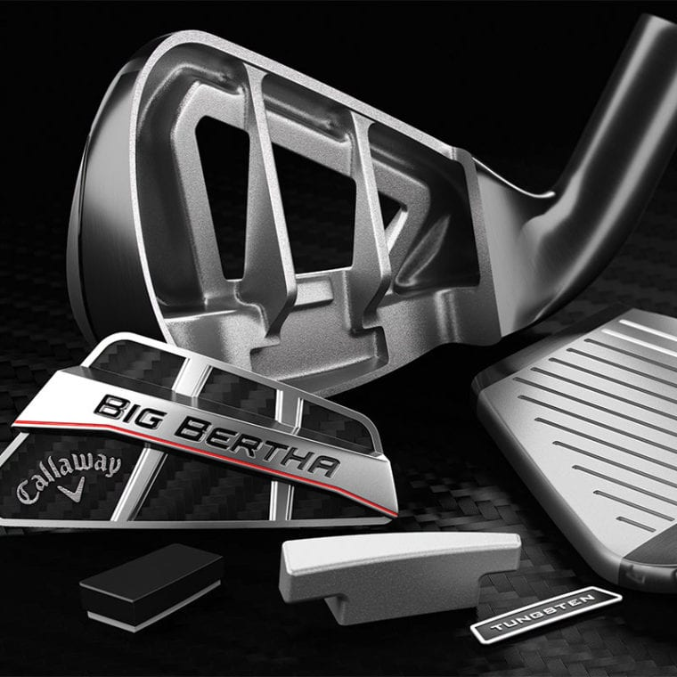 Big Bertha OS iron break apart
