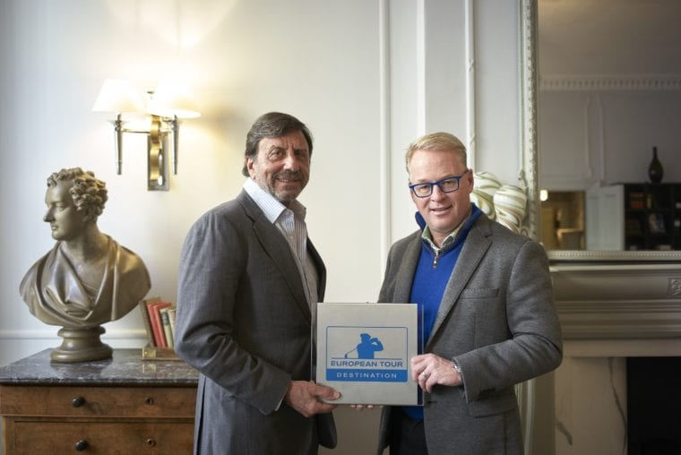 Verdura Resort Sir Rocco Forte and European Tour chief executive Keith Pelley