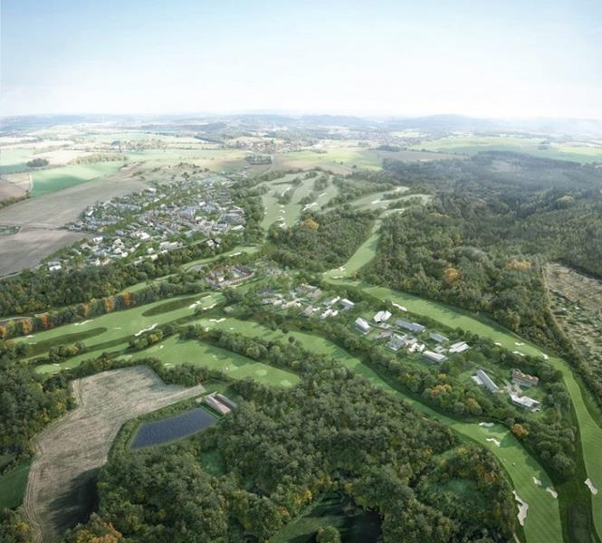 Oaks Prague is home to a Kyle Phillips-designed championship golf course