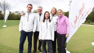 Women love.golf and Carin Koch