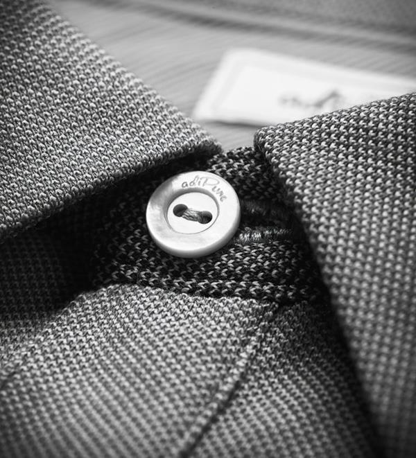 adiPure shirt button detail