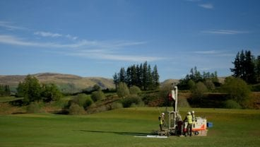Gleneagles - innovative drainage technology