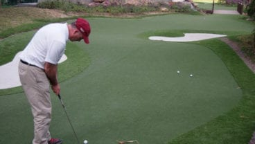 Synthetic turf by Golfplan in reality
