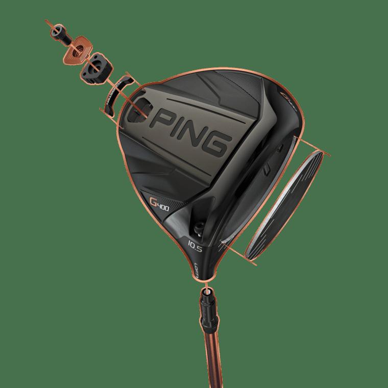PING G400 Driver_10-5 ExplodeIllustration