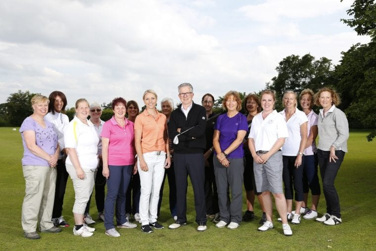 love.golf group with Alastair Spink & Carin Koch