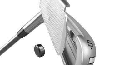 TaylorMade P790 irons_Exploded Club