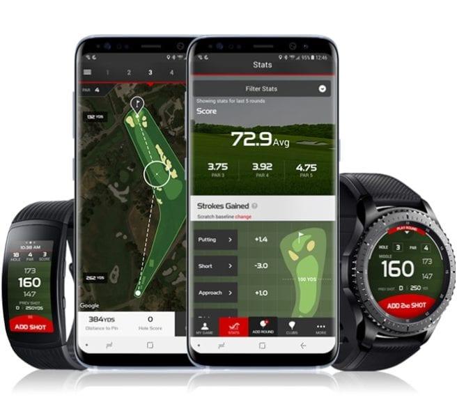 TaylorMade Samsung Gear S3