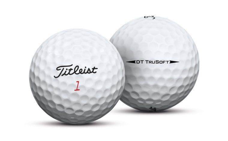 Titleist DT TruSoft 2017 2 golf balls