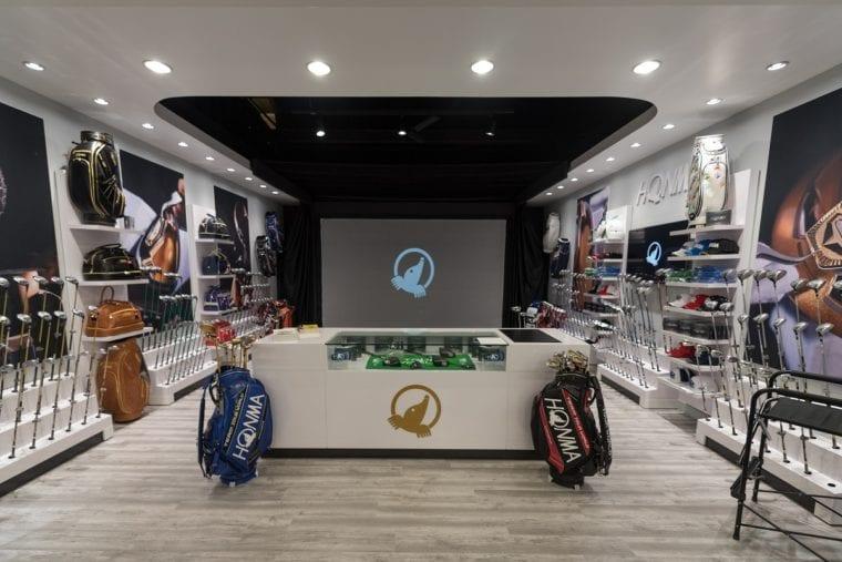 Honma Golf Gallery Store within the popular Roger Dunn Golf Shops' Santa Ana, California