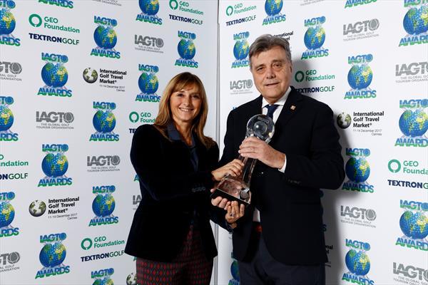 IAGTO Sustainability Awards Golf della Montecchia Italy