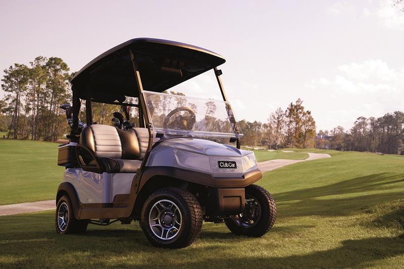 How can the new Club Car Tempo pamper the golfers? : Golf