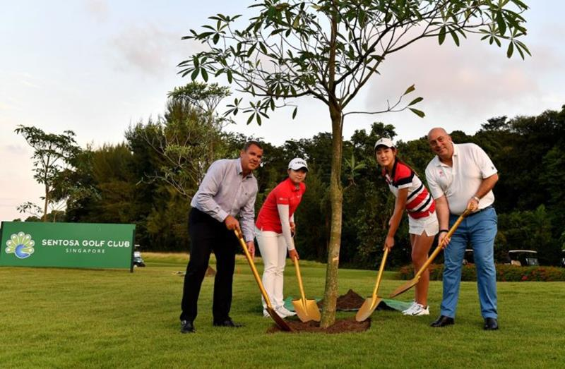 Sentosa Golf Club and The R&A Unveil 'Champions Grove' Alongside Competitors