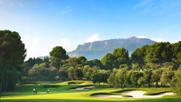 Real Club de Golf El Prat 17th hole