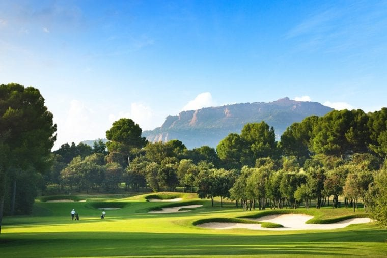 Real Club de Golf El Prat 17th hole