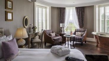 Tewkesbury Park Hotel room
