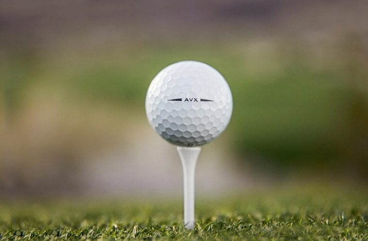 Titleist AVX golf balls lifestyle photo