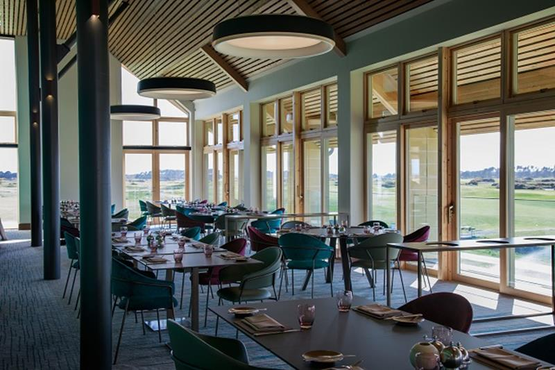 Carnoustie Golf Links - The Rookery restaurant