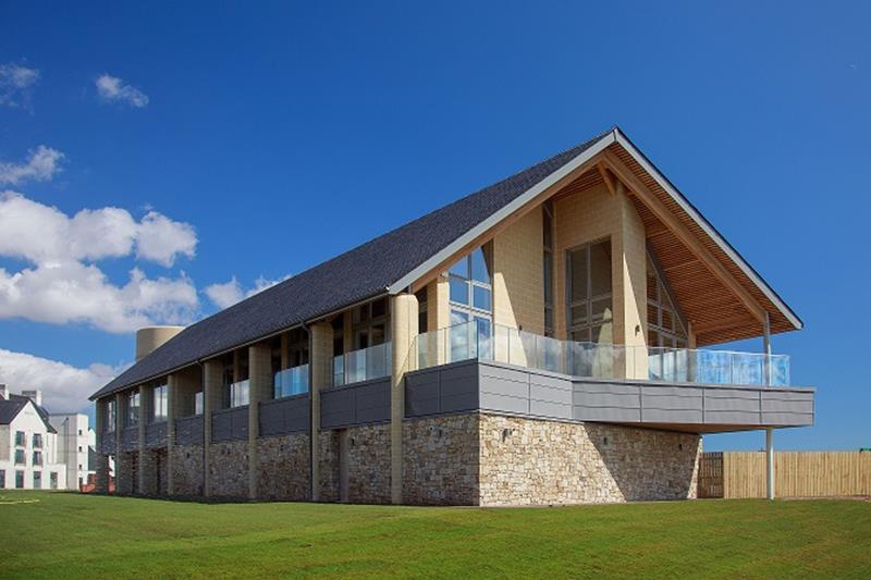 Carnoustie Golf Links clubhouse