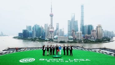 SAIC-GM Buick Brand and WME IMG China Launched Buick LPGA Shangahi Today