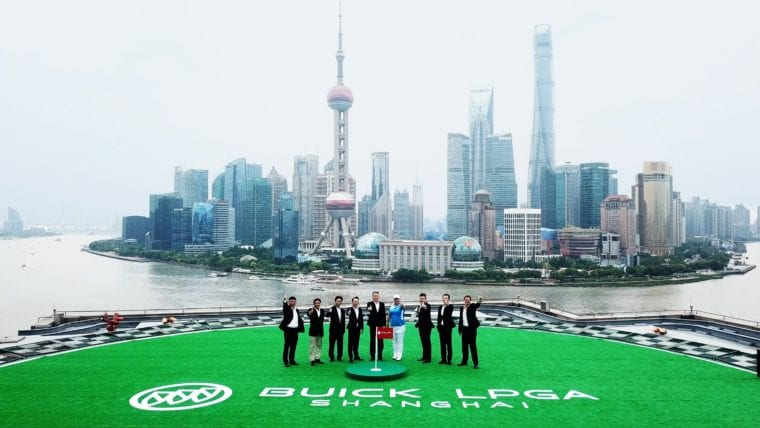 SAIC-GM Buick Brand and WME IMG China Launched Buick LPGA Shangahi Today