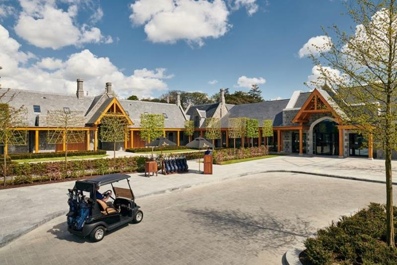 The Carriage House Exterior at Adare Manor