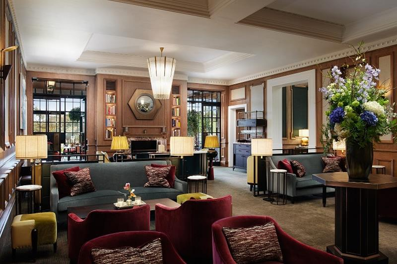 The Carriage House Lounge at Adare Manor