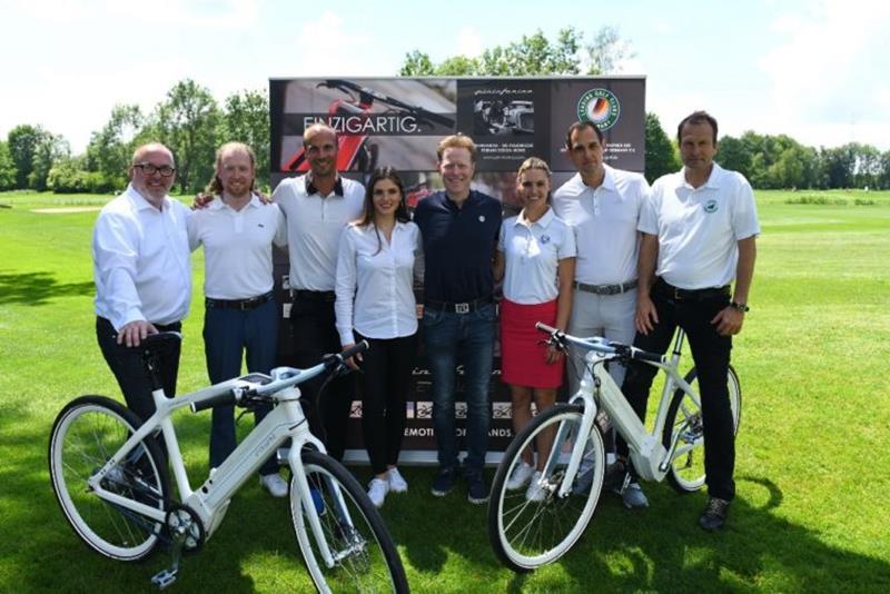 E-bike test in Golfclub München Eichenried