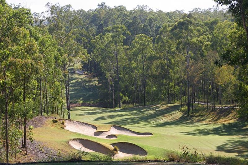 View of the 4th hole at Brookwater Golf & Country Club