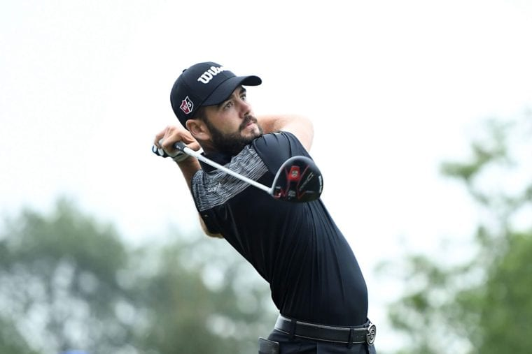 Hitting with a Driver Troy Merritt Barbasol Championship